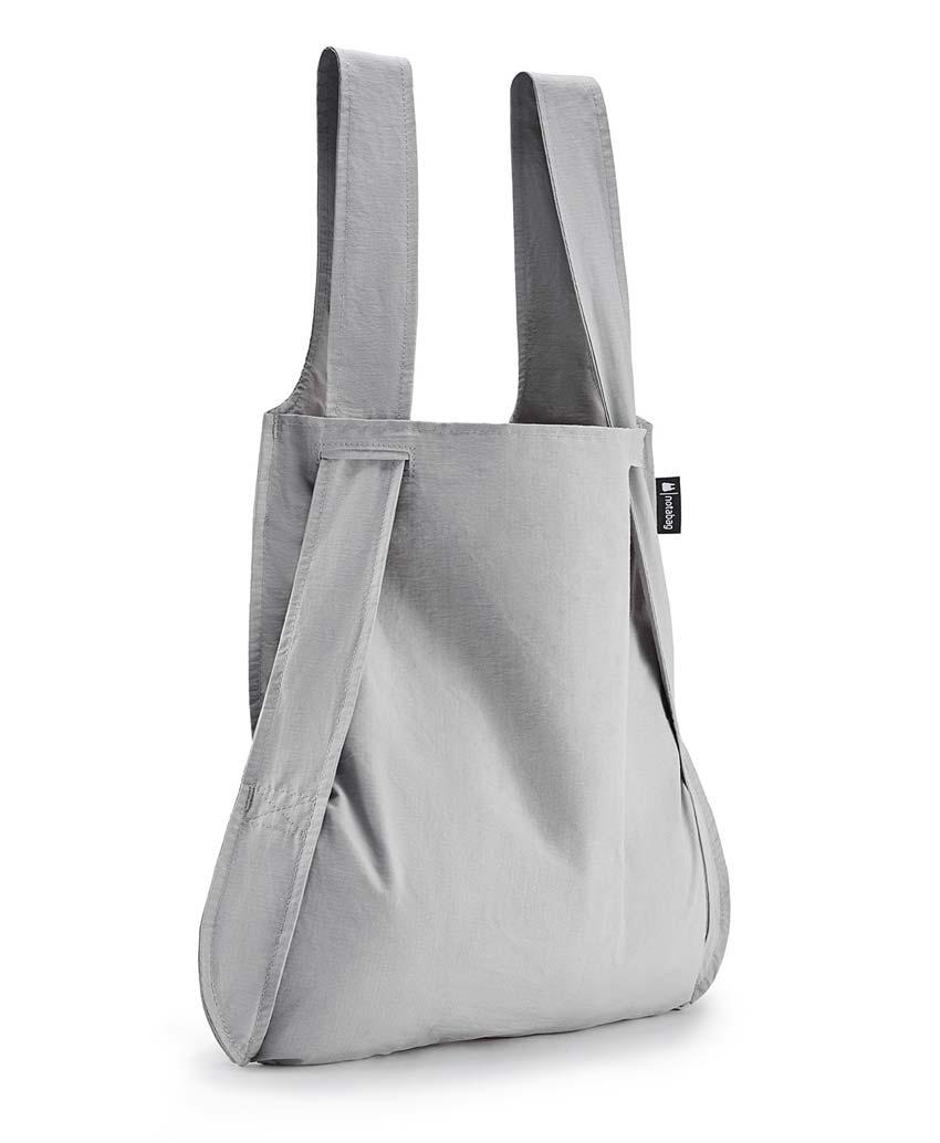 Notabag Τσάντα χειρός   Σακίδιο πλάτης - Γκρι - Sapontina ... 167eb6e4665
