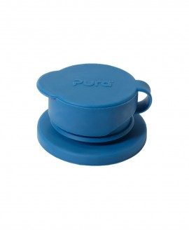 PURA Big Mouth™ Silicone Sport Top - ΜΠΛΕ