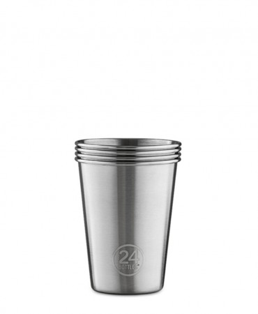 24Bottles PARTY CUP, Ποτήρια ανοξείδωτα  - 4 PACK - 330ml
