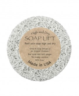 SOAP LIFT® Round-A-Bout - Βάση αποστράγγισης σαπουνιού - WHITE
