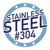 stainless steel #304